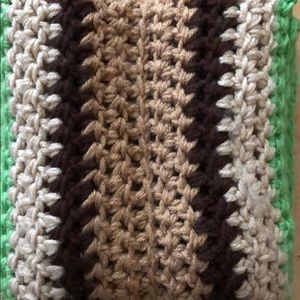 Other - Men's handcrafted infinity scarf